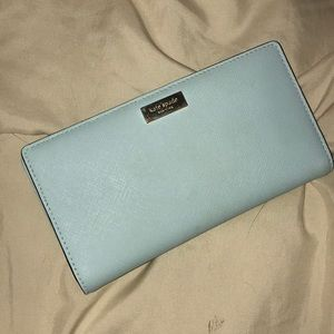 Kate Spade Laurel Way snap wallet